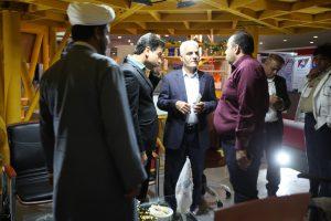 IMG 8481 300x200 - حضور ایزوایکو در نخستین نمایشگاه فرصت های ساخت داخل و رونق تولید استان هرمزگان